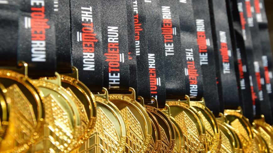 Médailles The Tower Run
