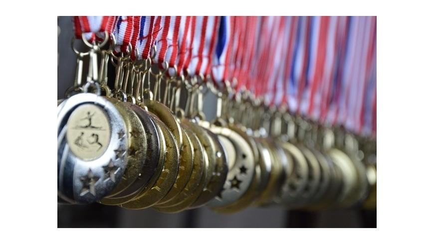 Médailles sportives