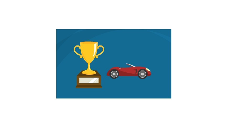 Trophée de sport automobile