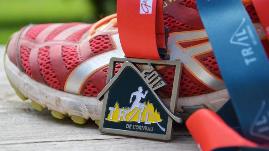 médaille de trail de l'Orneau